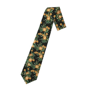 Hilo Hattie Pineapple Necktie - Black