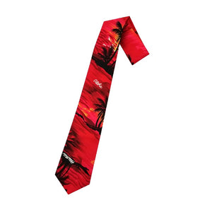 Hilo Hattie Palm Tree Necktie - Red