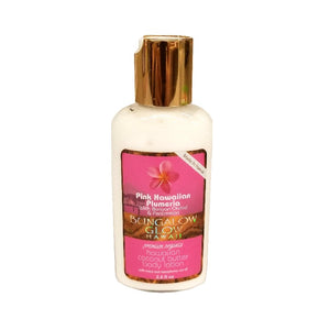 Bubble Shack Bungalow Glow Body Lotion 2oz - Pink Hawaiian Plumeria