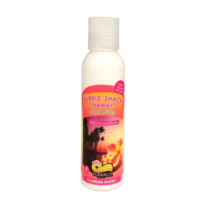Bubble Shack Organic Aloe + Coconut Lotion 4oz - Plumeria Sunset