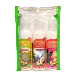 Bubble Shack Organic Aloe + Coconut Lotion 4oz - 3-pack Gift Set