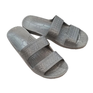 Imperial Import Gray Slide Unisex Slippers
