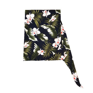 Made In Hawaii Hawaiian Sarong Large - TS033 - Navy
