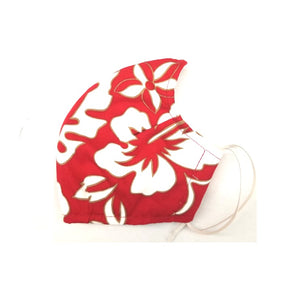 Classic Hibiscus Fashion Face Mask