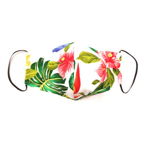 Mixed Floral Fashion Face Mask