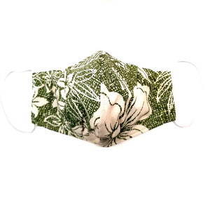 Speckled Fronds Fashion Face Mask