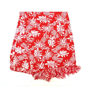 New Long Sarong - Pineapple Red