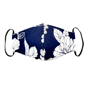 Kids Mono Navy Fashion Face Mask
