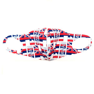 Hilo Hattie Spandex 'Hawaii Flag' Face Mask