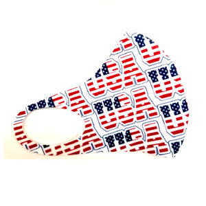 Hilo Hattie Spandex 'USA' Face Mask