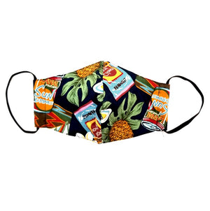 Hawaii Snack Fashion Face Mask