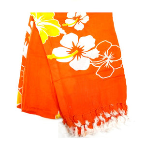 New Long Sarong - Orange