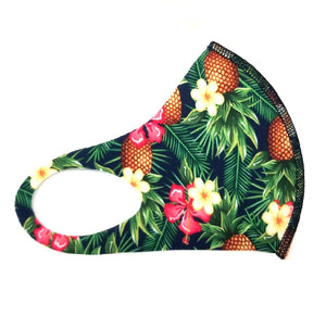 Hilo Hattie Spandex 'Pineapple Floral' Face Mask