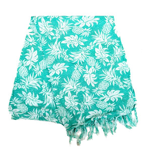 New Long Sarong - Pineapple Mint