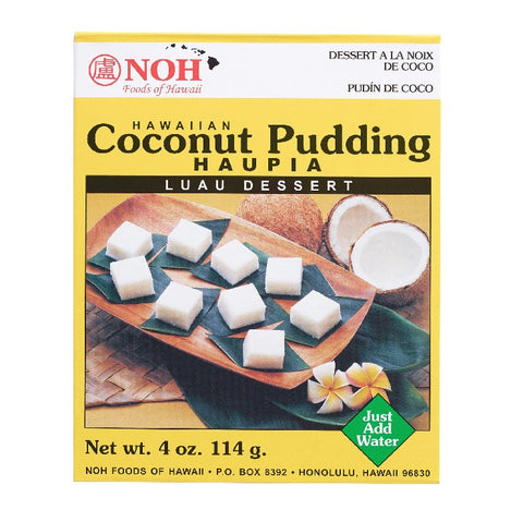 NOH HAWAIIAN COCONUT PUDDING - HAUPIA 4 OZ
