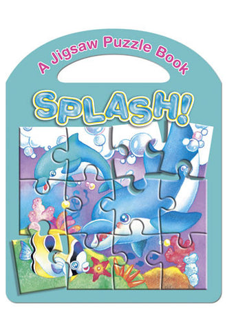 Splash! A Jigsaw Puzzle Book (Board Book)