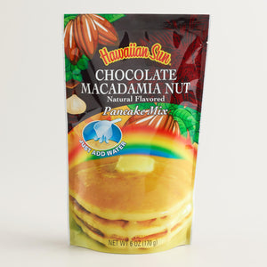 Hawaiian Sun Chocolate Macadamia Nut Pancake Mix 6oz