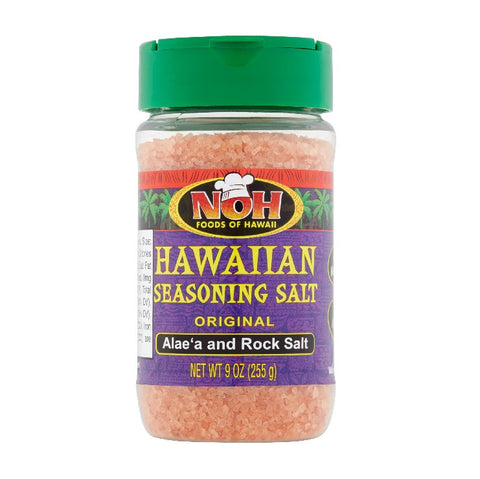 NOH ORIGINAL HAWAIIAN SEASONING SALT 9 OZ