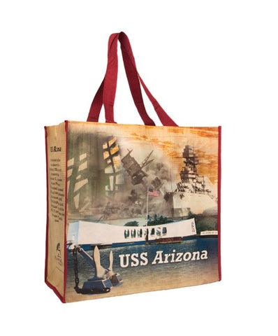 USS Arizona Recycle Bag