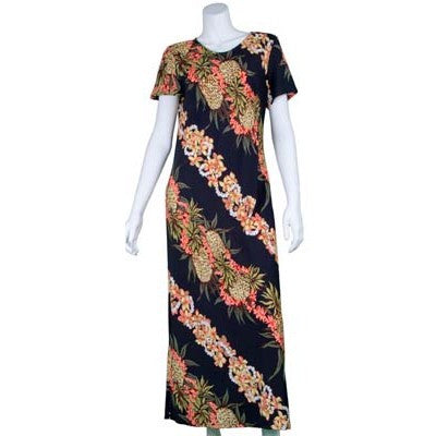 Pineapple Panel Long Dress
