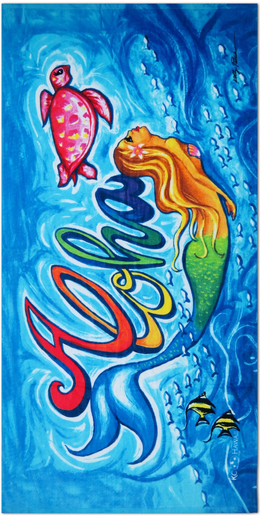 054ce5b09ee MERMAID BEACH TOWEL - Hilo Hattie