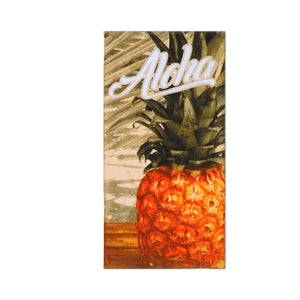 Island Style Beach Towel - Pineapple