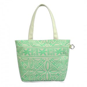 Island Impressions Small Tote Bag - Tropical Tapa