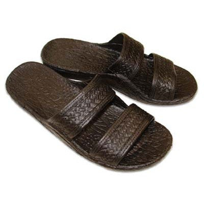 Imperial Import Black Slide Unisex Slippers
