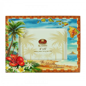 PICTURE FRAME / POLY RESIN / ALOHA COASTAL