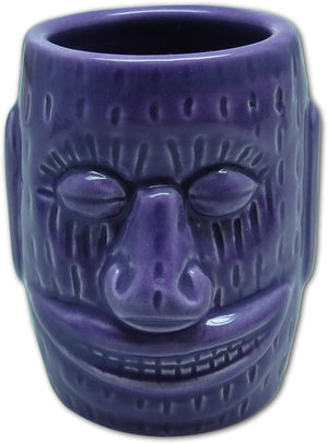 TIKI SHOT GLASS - IHU TIKI PURPLE