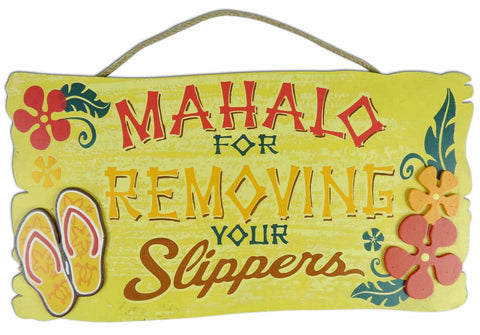 MAHALO - HAWAIIAN WOOD SIGN