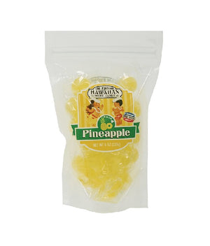 Pineapple Hawaiian Hard Candy 8 Oz Bag
