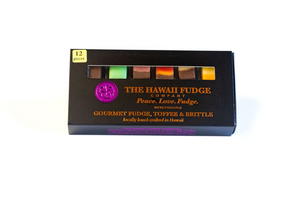 The Hawaii Fudge Company 12 piece Fudgelette™ Variety Box