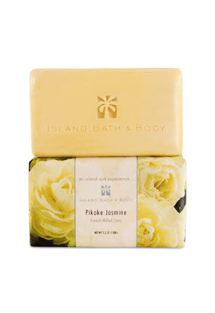 Island Bath & Body Pikake Jasmine French-Milled Soap