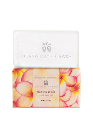 Island Bath & Body Plumeria Vanilla French-Milled Soap
