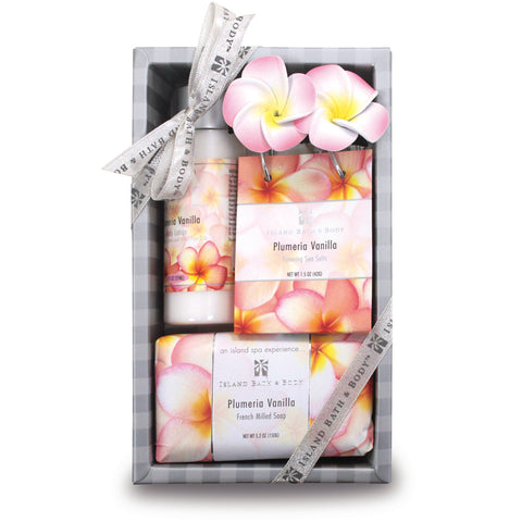 Island Bath & Beauty - Plumeria Vanilla Gift Set