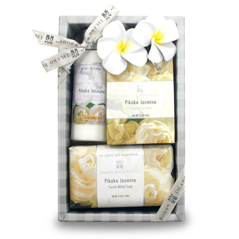 Island Bath & Beauty - Pikake Jasmine Gift Set