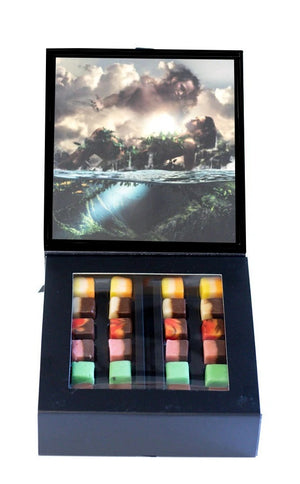 "48 piece Fudgelette™ Box - ""Origin"" Papa & Wakea"