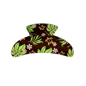 Hawaii Hair Clip Claw ~ Brown