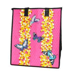 Burro Pink Large Insulated Hot/Cold Reusable Bag