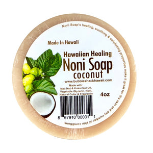 Bubble Shack Noni Soap - Coconut - 4oz