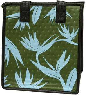 Collection Olive Petite  Hawaiian Insulated Hot/Cold Reusable Bag