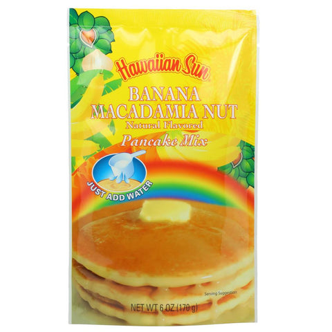 Hawaiian Sun Banana Macadamia Nut Pancake Mix 6oz