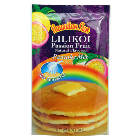 Hawaiian Sun Lilikoi Pancake Mix 6oz