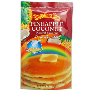 Hawaiian Sun Pineapple Coconut Pancake Mix 6oz