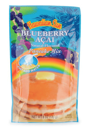 Hawaiian Sun Blueberry Acai Pancake Mix 6oz