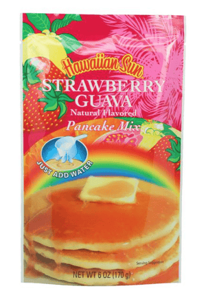 Hawaiian Sun Strawberry Guava Pancake Mix 6oz