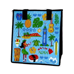 HI Vacay Sky Medium Insulated Hot/Cold Reusable Bag