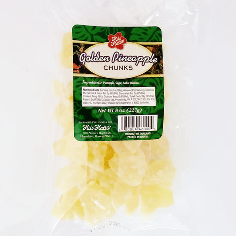 Hilo Hattie Golden Pineapple Chunks 8oz