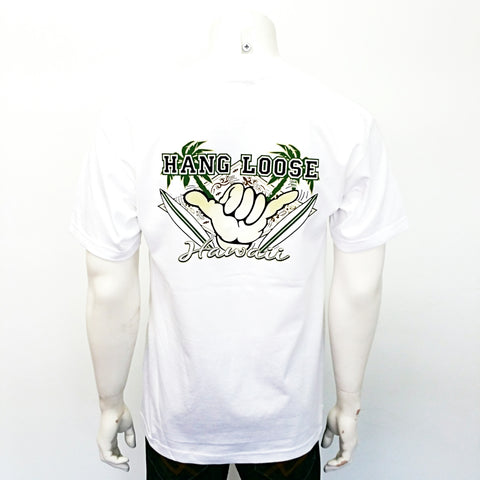 Hang Loose Hawaii Tee ~ White